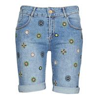 Odjeća Žene  Bermude i kratke hlače Desigual GRECIA Blue