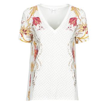 Odjeća Žene  Majice kratkih rukava Desigual PRAGA Bijela