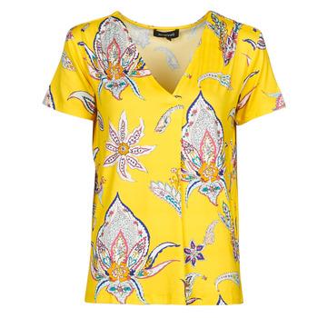 Odjeća Žene  Majice kratkih rukava Desigual LEMARK Žuta