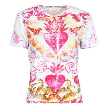 Odjeća Žene  Majice kratkih rukava Desigual TATTOO Multicolour