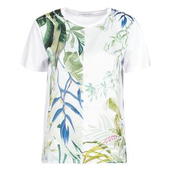 Odjeća Žene  Majice kratkih rukava Desigual BUDAPEST Bijela