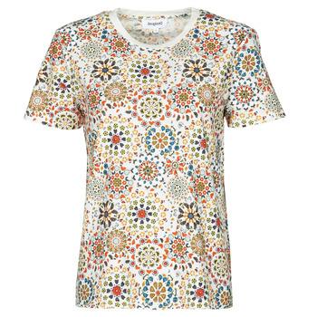 Odjeća Žene  Majice kratkih rukava Desigual LYON Bijela