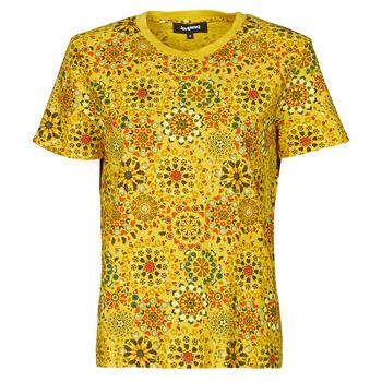 Odjeća Žene  Majice kratkih rukava Desigual LYON Žuta