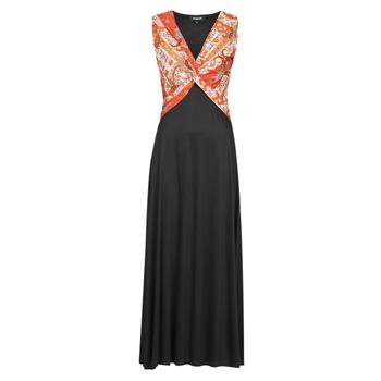 Odjeća Žene  Duge haljine Desigual YAKARTA Crna