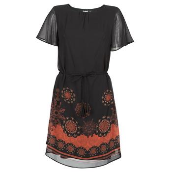 Odjeća Žene  Kratke haljine Desigual TAMPA Crna