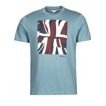 Odjeća Muškarci  Majice kratkih rukava Ben Sherman HALF TONE FLEG TEE Blue