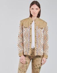Odjeća Žene  Kratke jakne Cream SOLDE JACKET Bež