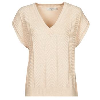 Odjeća Žene  Topovi i bluze Cream MAHIMA SLEEVELESS Bež