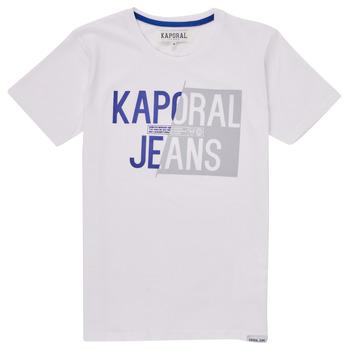 Odjeća Dječak  Majice kratkih rukava Kaporal MAYO Bijela