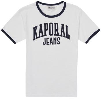 Odjeća Dječak  Majice kratkih rukava Kaporal METRO Bijela