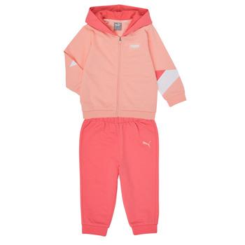 Odjeća Djevojčica Dječji kompleti Puma BB MINICATS REBEL Ružičasta / Siva