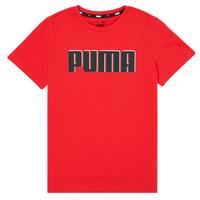Odjeća Dječak  Majice kratkih rukava Puma ALPHA GRAF TEE Red