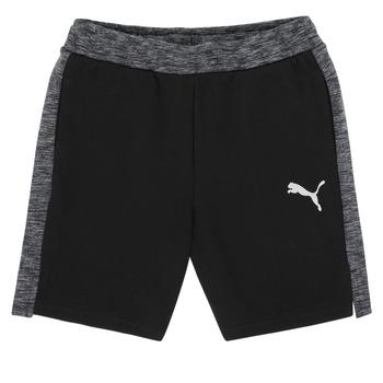 Odjeća Dječak  Bermude i kratke hlače Puma EVOSTRIPE SHORTS Crna