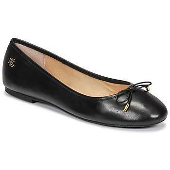 Obuća Žene  Balerinke i Mary Jane cipele Lauren Ralph Lauren JAYNA Crna