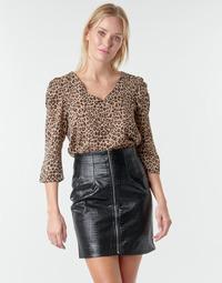 Odjeća Žene  Topovi i bluze Moony Mood NOULIETTE Bež / Smeđa