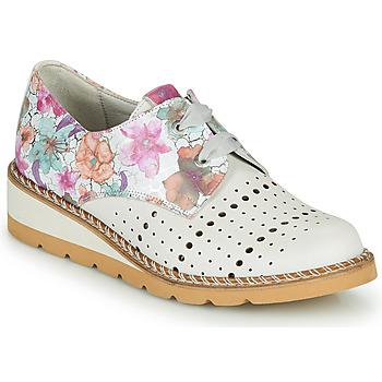 Obuća Žene  Derby cipele Dorking TETRIS Bijela / Multicolour