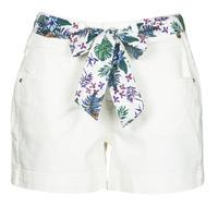 Odjeća Žene  Bermude i kratke hlače Freeman T.Porter GINGER MUZEY Snow / Bijela