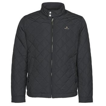 Odjeća Muškarci  Kratke jakne Gant QUILTED WINDCHEATER Crna