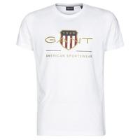 Odjeća Muškarci  Majice kratkih rukava Gant ARCHIVE SHIELD Bijela