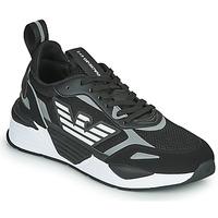 Obuća Muškarci  Niske tenisice Emporio Armani EA7 BLACES Crna