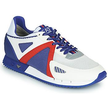 Obuća Muškarci  Niske tenisice Emporio Armani EA7 SAPONI Bijela / Blue / Red