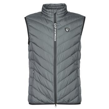 Odjeća Muškarci  Pernate jakne Emporio Armani EA7 TRAIN CORE SHIELD M DOWN LIGHT VEST Siva