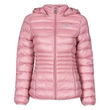 Odjeća Žene  Pernate jakne Emporio Armani EA7 8NTB23-TN12Z-1436 Ružičasta