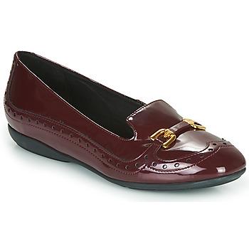 Obuća Žene  Balerinke i Mary Jane cipele Geox D ANNYTAH Bordo