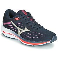 Obuća Žene  Running/Trail Mizuno WAVE RIDER 24 Ljubičasta / Ružičasta
