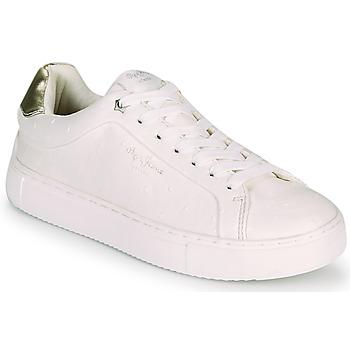 Obuća Žene  Niske tenisice Pepe jeans ADAMS MOLLY Bijela / Gold
