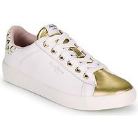 Obuća Žene  Niske tenisice Pepe jeans KIOTO FIRE Bijela / Gold