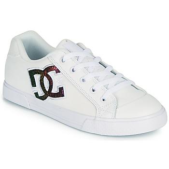 Obuća Žene  Obuća za skateboarding DC Shoes CHELSEA J Bijela / Ružičasta