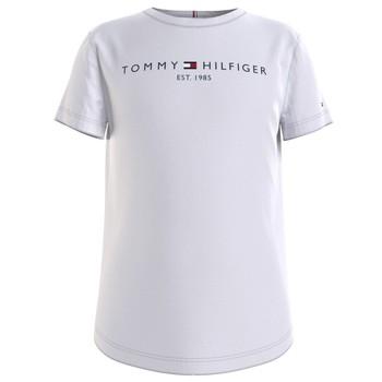 Odjeća Djevojčica Majice kratkih rukava Tommy Hilfiger KG0KG05242-YBR Bijela