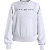 Odjeća Djevojčica Sportske majice Tommy Hilfiger THUBOR Bijela