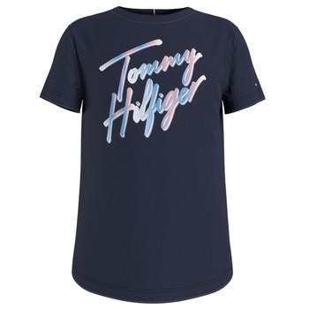 Odjeća Djevojčica Majice kratkih rukava Tommy Hilfiger KG0KG05870-C87 Blue