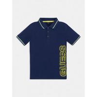 Odjeća Dječak  Polo majice kratkih rukava Guess L1GP00-KADZ0-DEKB Blue