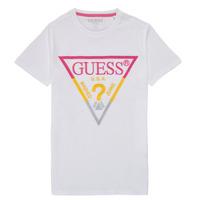 Odjeća Dječak  Majice kratkih rukava Guess H1RJ05-K8HM0-P66P Bijela