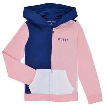 Odjeća Djevojčica Sportske majice Guess K1RQ00-KA6R0-F672 Bijela / Ružičasta