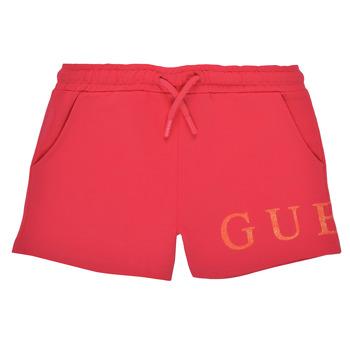 Odjeća Djevojčica Bermude i kratke hlače Guess K1GD08-KAN00-C448 Ružičasta