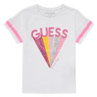 Odjeća Djevojčica Majice kratkih rukava Guess K1RI04-K6YW1-TWHT Bijela