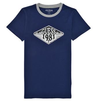Odjeća Dječak  Majice kratkih rukava Guess L1GI09-K8HM0-DEKB Blue