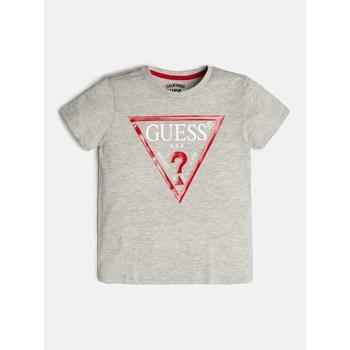 Odjeća Dječak  Majice kratkih rukava Guess L73I55-K5M20-M90 Siva