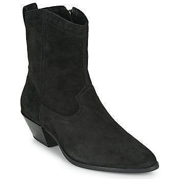 Obuća Žene  Gležnjače Vagabond Shoemakers EMILY Crna