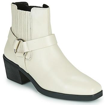 Obuća Žene  Gležnjače Vagabond Shoemakers SIMONE Bijela