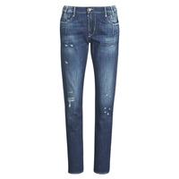Odjeća Žene  Boyfriend traperice Le Temps des Cerises 200/43 LIOR Blue