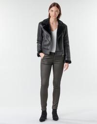 Odjeća Žene  Hlače s pet džepova Le Temps des Cerises ANDREA Crna