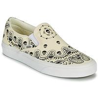 Obuća Slip-on cipele Vans CLASSIC SLIP ON Bež / Crna