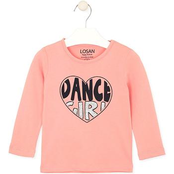 Odjeća Djeca Majice / Polo majice Losan 026-1632AL Ružičasta