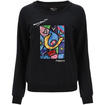 Odjeća Žene  Sportske majice Freddy F0WBRS4 Crno