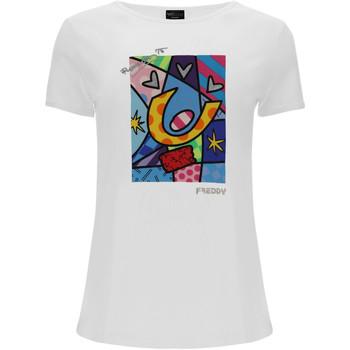 Odjeća Žene  Majice / Polo majice Freddy F0WBRT1 Bijela